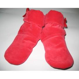 02-50000 , Тапочки-сапожки женские велюр